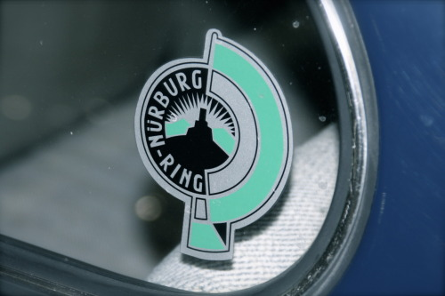 "Alterthumsnürburgring. ""Old school"" 'Ring logo"