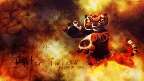 "Master Tigress WP - remake by ~Ripplepelt Someone asked me to make a wallpaper for http://ripplepelt.deviantart.com/gallery/?offset=72#/d1itld6 and I was like ""oh god I made that years ago it sucks so much."" So I decided to just make a new one altogether. A lot more happy with this one. ^^'"