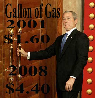 gas prices bush