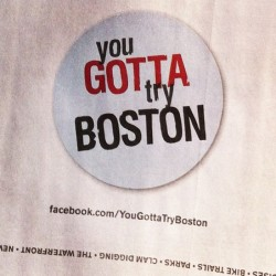 modamags:  #yougottatryboston #boston #topchef  (Taken with instagram)  Go Boston!!!