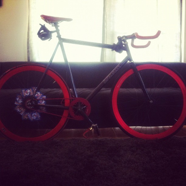 holding this hostage #bikes (Taken with instagram)