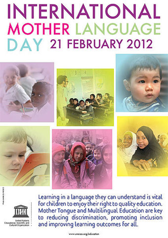 "united-nations:  Tuesday, 21 February, is International Mother Language Day which is 2012 focuses on other tongue instruction and inclusive education  ""Multilingualism is our ally in ensuring quality education for all, in promoting inclusion and in combating discrimination. "" Irina Bokova, Director-General of UNESCO"