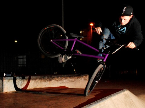 Danny Swindlehurst tweaked to the max can jam at Halton