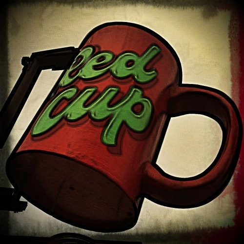'Red Cup' Photo: Zachary Brown - 2012 - iPhone 4 w/ FX Photo Studio & Pixlromatic This work is licensed under a Creative Commons Attribution-NonCommercial-NoDerivs 3.0 Unported License