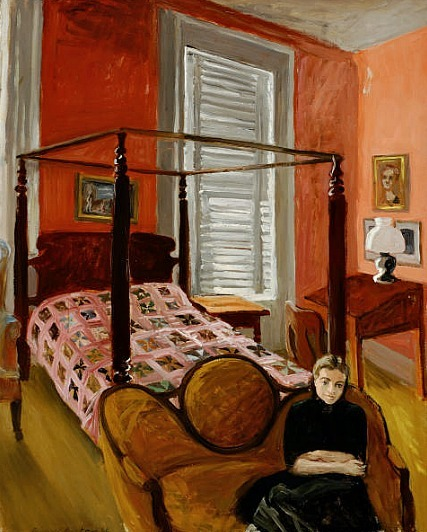 Fairfield Porter In the Bedroom 1948