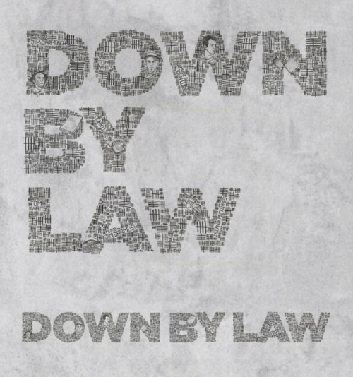 Down by Law - a Jim Jarmusch movie -designing the credits