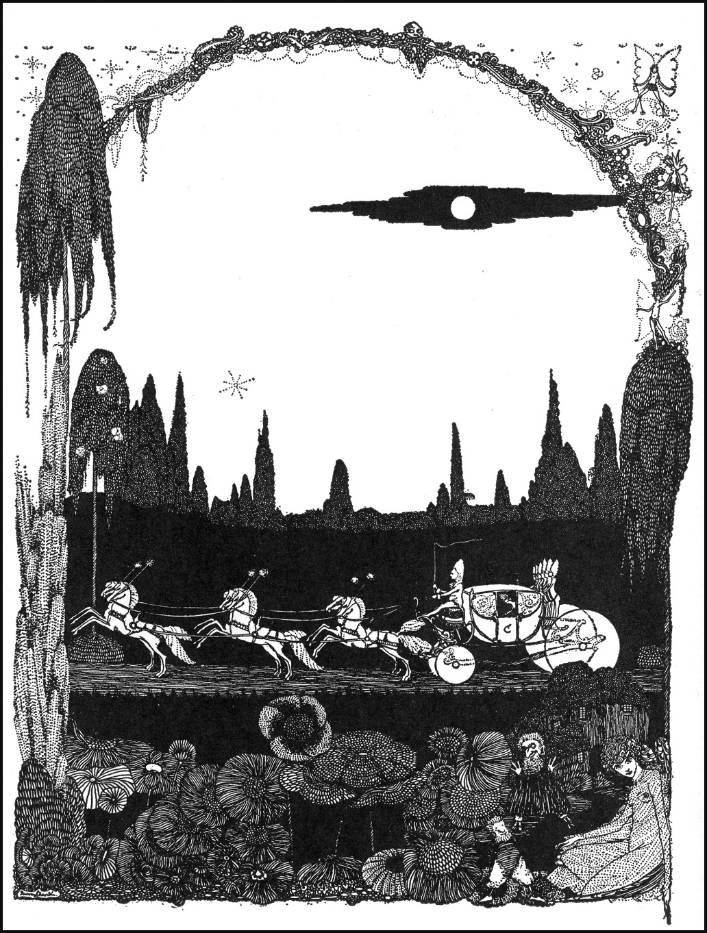 Harry Clarke via Golden Age Comic Book Stories