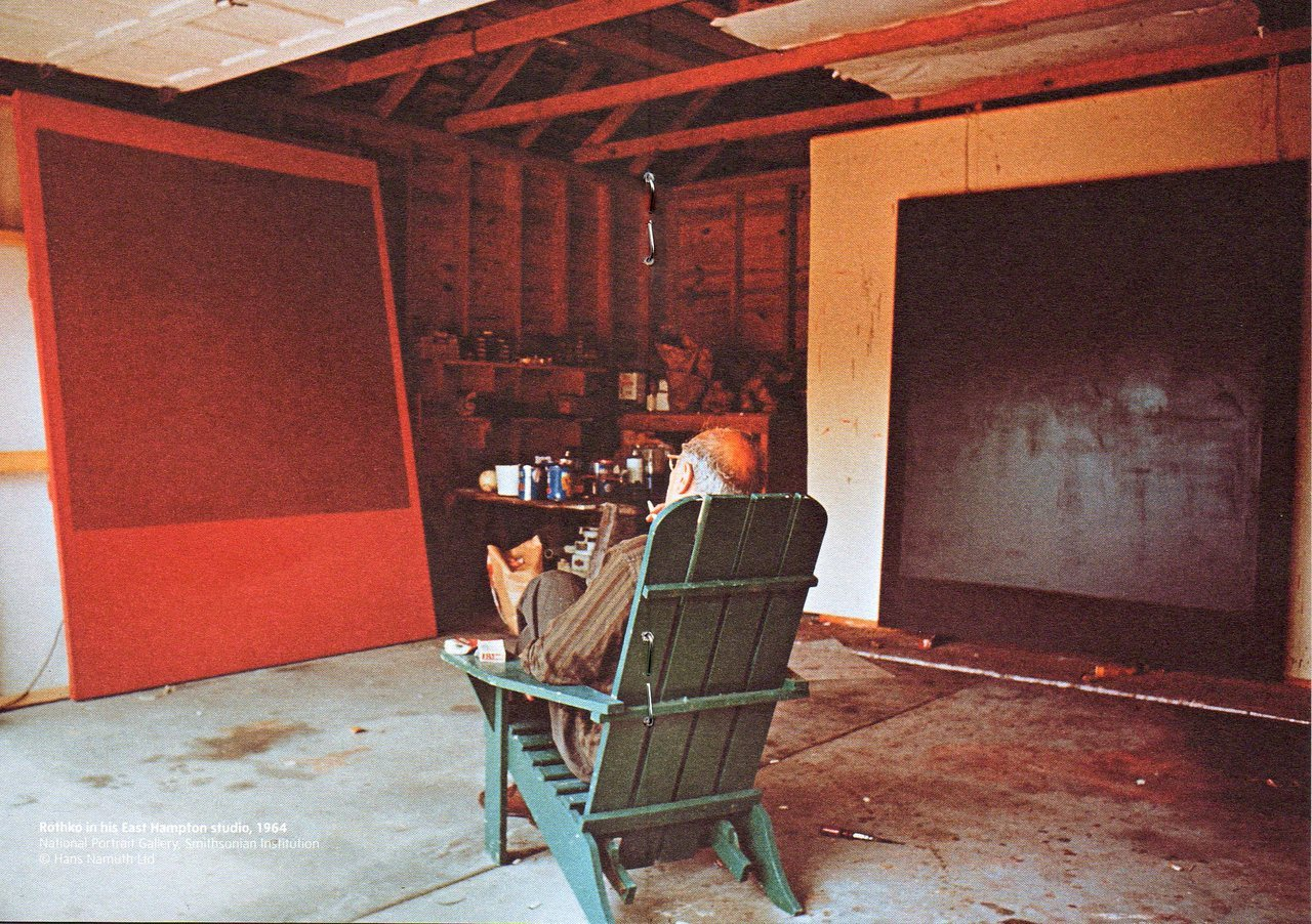 Mark Rothko in his studio.  [via: arthistoryx]