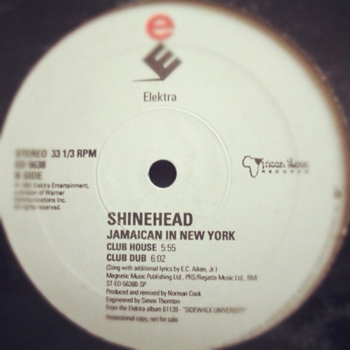 Shinehead - Jamaican In New York (Club House)