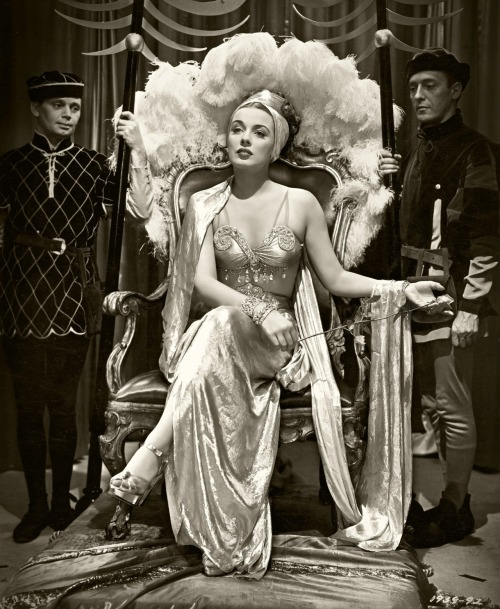 jeanjeanie61:  Patricia Morison - 'Are Husbands Necessary?' - 1942 http://vintage-erotica-forum.com