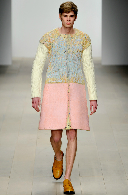 Kenji Kawasumi, Central Saint Martins Fall 2012 via Style