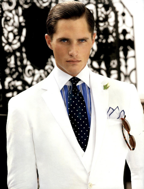 mensfashionworld:  Ralph Lauren Purple Label S/S 2012 campaign