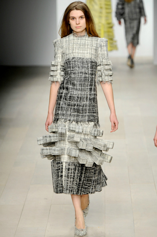 Hellen van Rees, Central Saint Martins Fall 2012 via Style