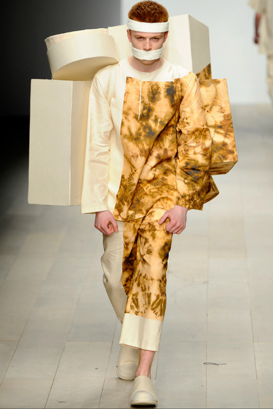 Craig Green, Central Saint Martins Fall 2012 via Style