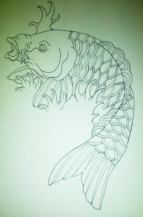 Nice lil piece id like to tattoo soon! :) full colour would be awesome and different for me :P