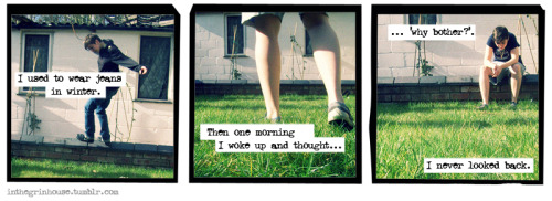 a comic strip a-la a softer world. done as a dare by a friend.
