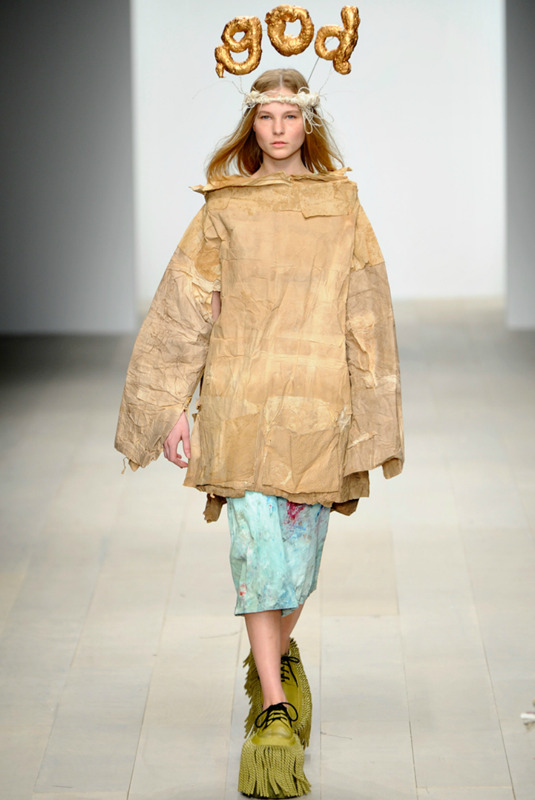 Luke Brooks,  Central Saint Martins Fall 2012 via Style
