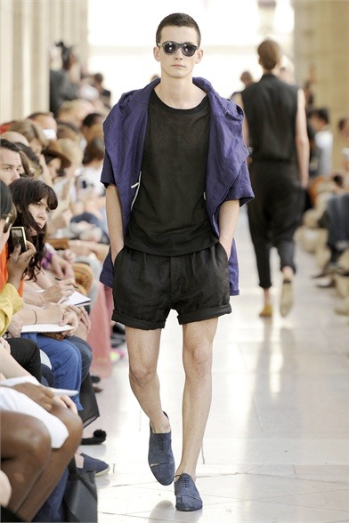 I'd wear that on a hot day. mensfashionworld:  Petar Petrov S/S 2012