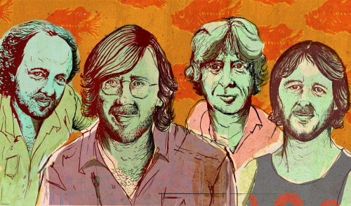 phillipcwells:  Double Page spread for portfolio. None other then Phish!