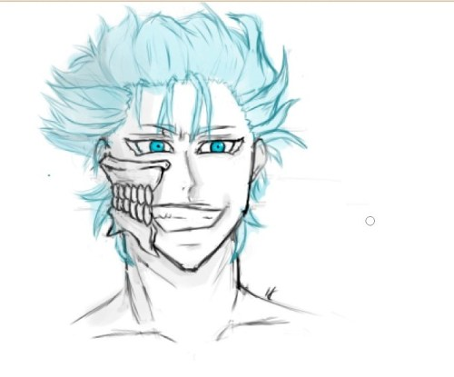 Yeyy!!! i finish my daily sketch :3 I like how Grimmjow looks :P Hope you like it