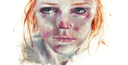 my eyes refuse to accept passive tears by =agnes-cecile/Silvia Pelissero