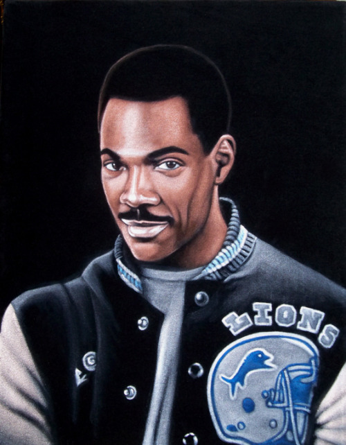 "Axel Foley 14"" x 18"" acrylic on velvetSOLD at the show ""Is This Thing On? 2: The Weird Year"" at Gallery1988. Show runs Friday, March 9  through March 31, 2012."