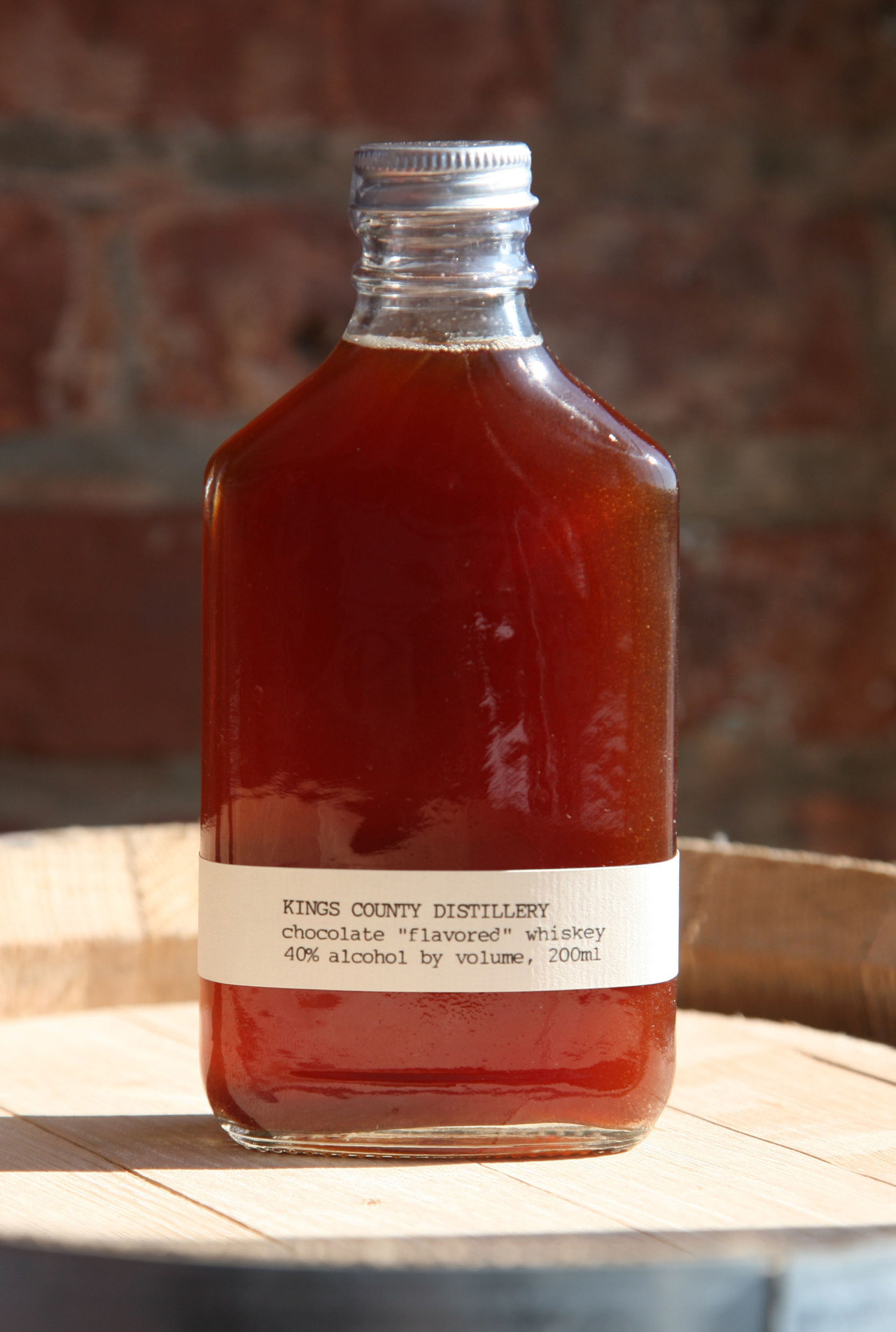 Kings County Chocolate Whiskey using Mast Brothers Chocolate? I'm skeptical, but interested.