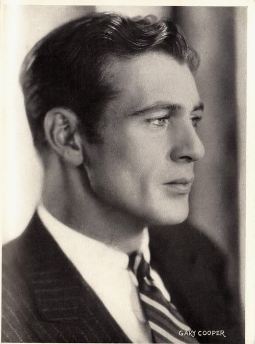 scotomisation:  Gary Cooper