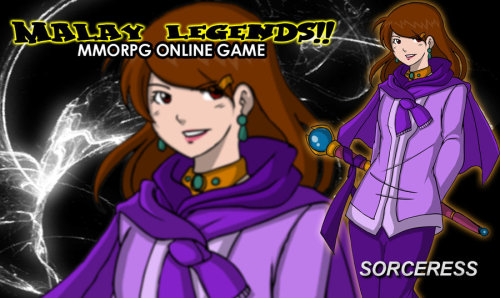 ML Sorceress Wall by ~Graxile Original Character again :D