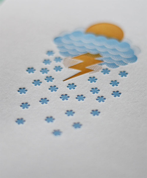 Greeting Card. Nice embossing.