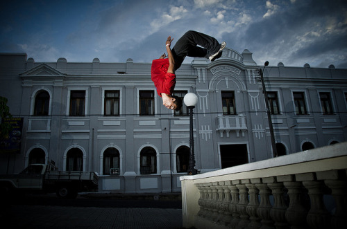 Kisuke (Junior) - Parkour Teresina by VictorGabrielSantos on Flickr.