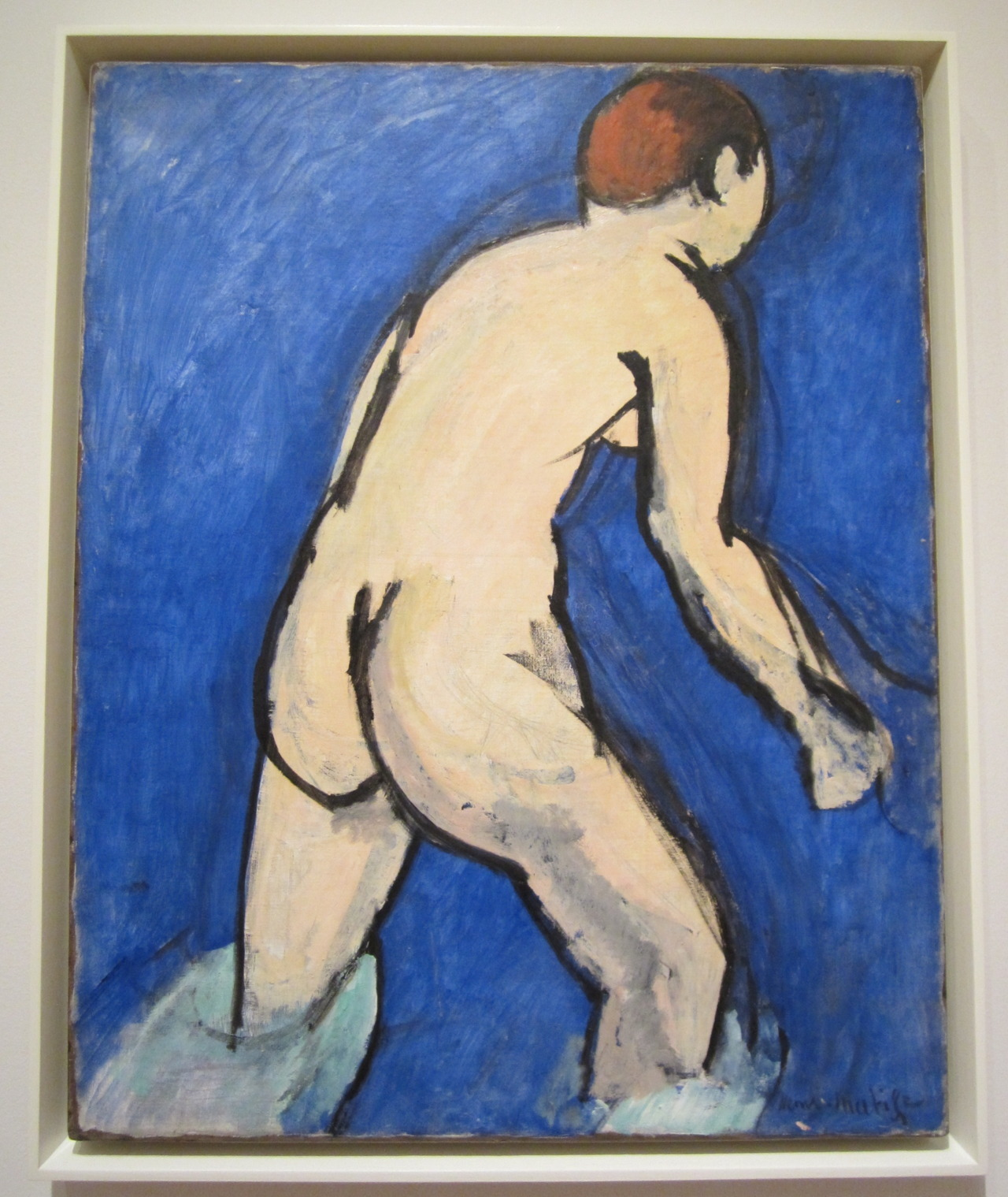Bather - Henri Matisse 1909 MoMA, NYC