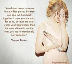 Amazing person, amazing quote.