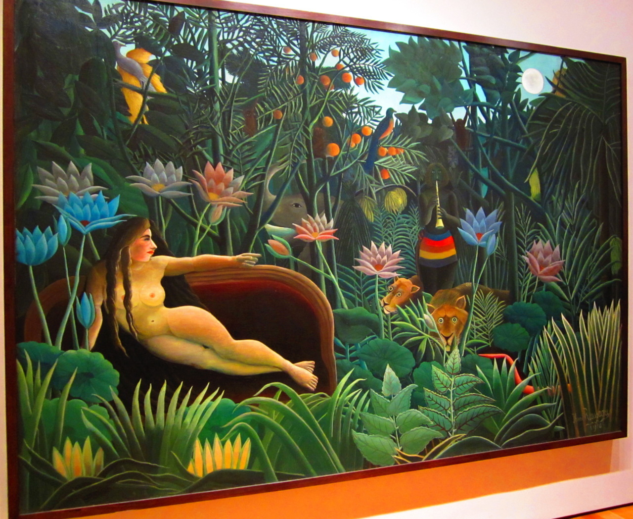 The Dream - Henri Rousseau (1910)