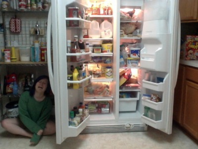 tomlison:  there's nothing to eat