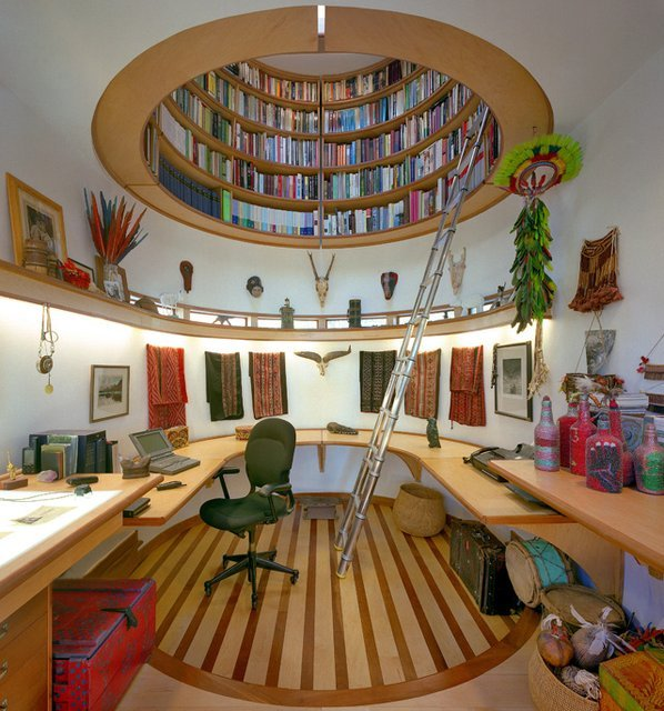 I need to build a writing studio like this. Probably can't afford Travis Price Architects.