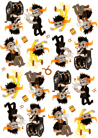 thejotaku:  HNNN background image for my ask Tavros blog. ; u;  SO YOU SEE STILL WORKING ON THIS I HAVEN'T FORGOTTEN.
