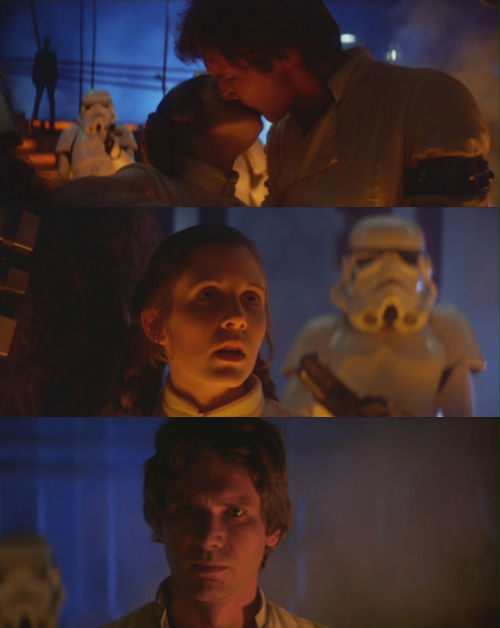 The Empire Strikes Back (1980) Leia: I love you.Han Solo: I know.