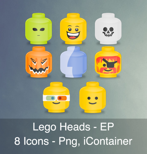 (via Lego Heads - EP by ~articZ3R0 on deviantART)