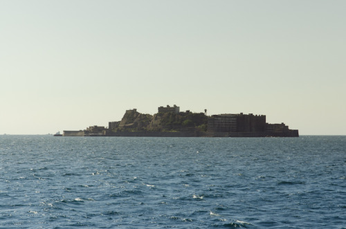 #491: The boat ride to Gunkanjima. The deserted island of Japan since 1974.