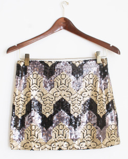 Sequin Design Skirt @ www.mickeysgirl.com