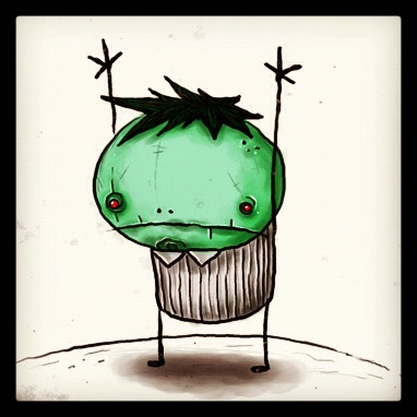 Zombie Boy  (sneak preview of a short picture book I worked on)