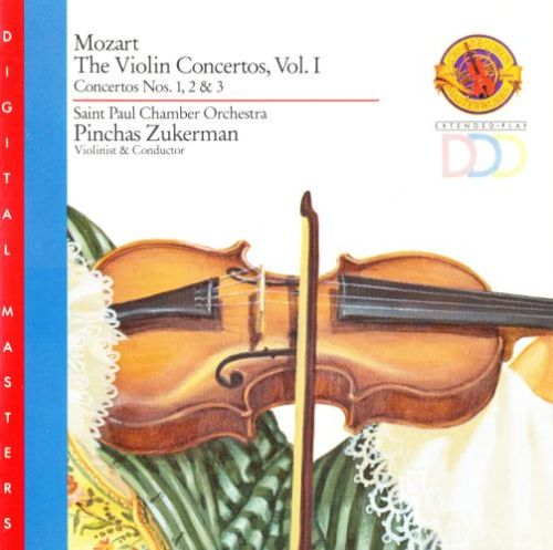 Wolfgang Amadeus Mozart ~ The Violin Concertos, Vol. 1
