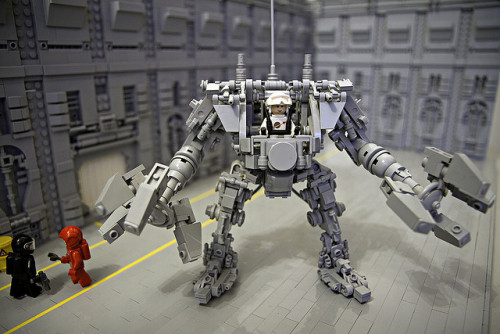 Exo-Suit (MkII) by Legoloverman on Flickr.