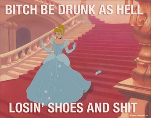 Fucken Cinderella, get your shit together -.-