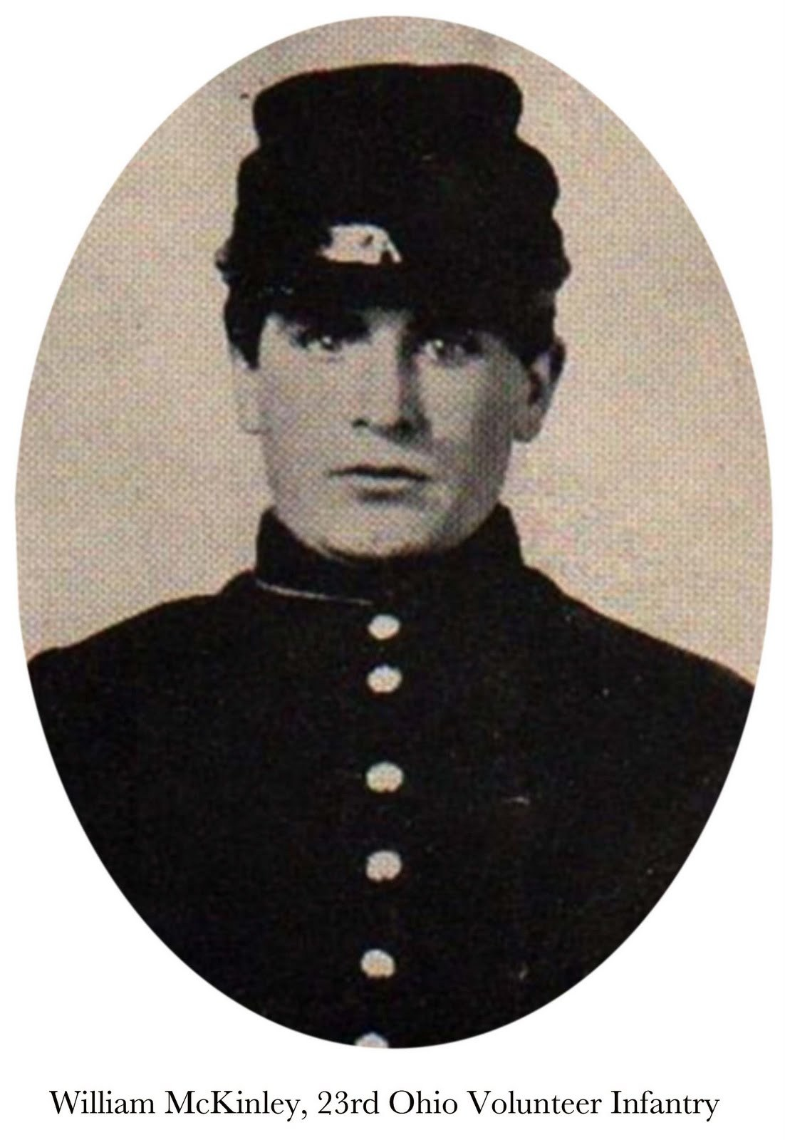 William McKinley in uniform long before he became President of the United States
