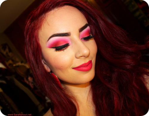 makeupftw:  LIKE www.Facebook.com/SaraAshouri for more FOTDs <3  WOW.