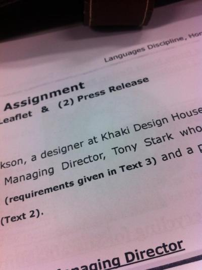 writing promotional leaflet and press release for my boss Tony Stark aka iron man LOL
