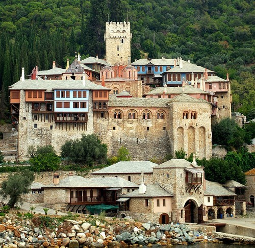 agion oros, mount athos, greece
