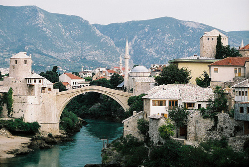 eurotripper:  mostar, bosnia and herzegovina by Kashklick
